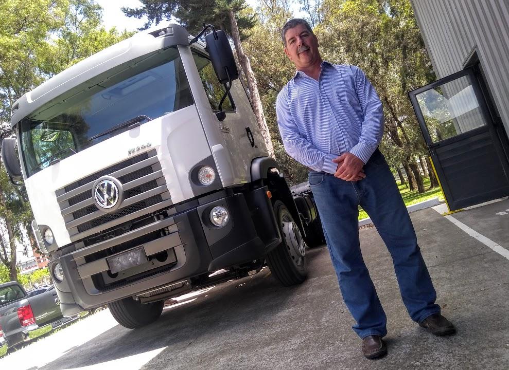 José Pandolfini, Gerente Zonal de Postventa de VW Camiones y Buses
